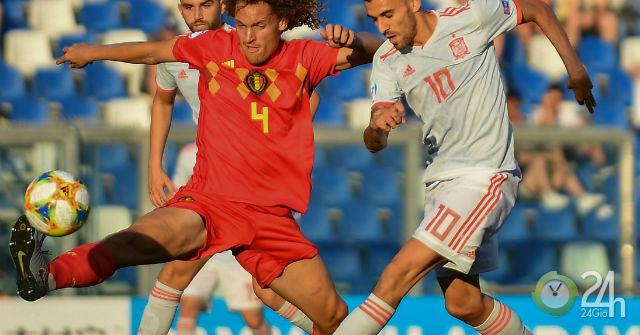 Video, kết quả bóng đá U21 Tây Ban Nha - U21 Bỉ: Vỡ òa phút 89, SAO Ngoại hạng Anh tỏa sáng