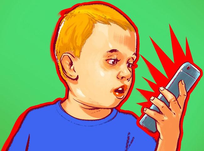 9 tác hại nguy hiểm khó lường khi trẻ nghiện điện thoại thông minh - 4