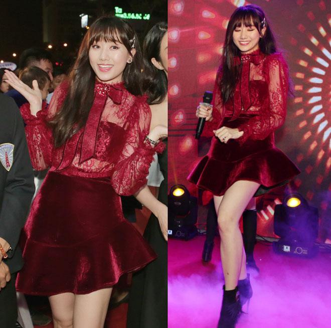 Bộ cánh hoành tráng của Hari Won mất điểm vì lỗi trang phục lót - 9