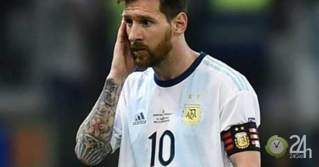 Tin nóng Copa America 25/6: Messi thừa nhận sợ Argentina bị loại sớm
