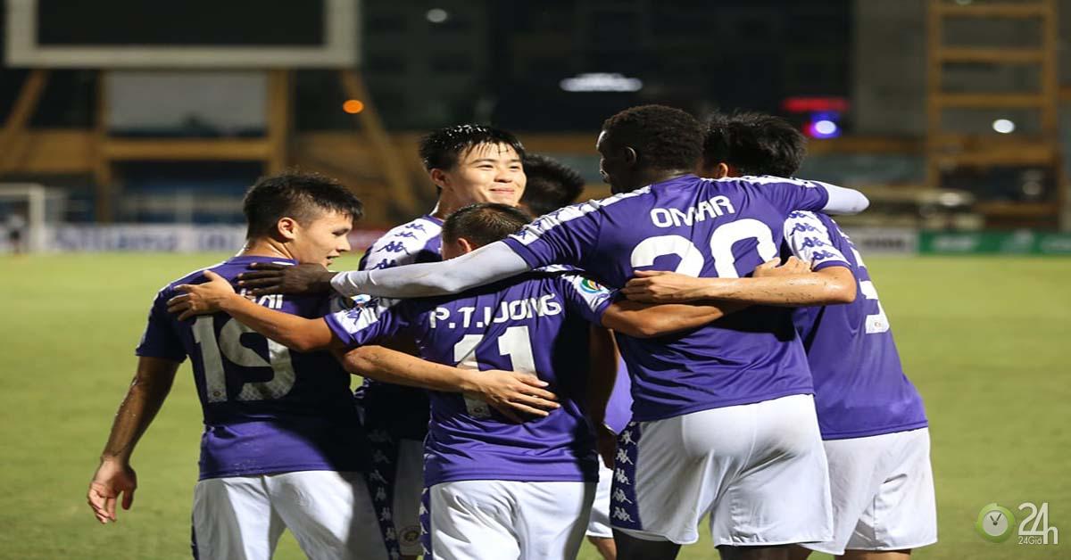 """Hà Nội vào chung kết khu vực AFC Cup: Đối thủ là ai, có """"derby V-League"""" ở châu Á?-Bóng đá 24h"""