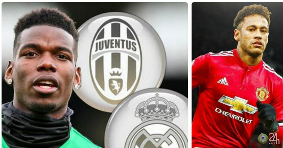 MU cao tay trị Pogba: Lật kèo Real - Juventus, đổi lấy bom tấn Neymar