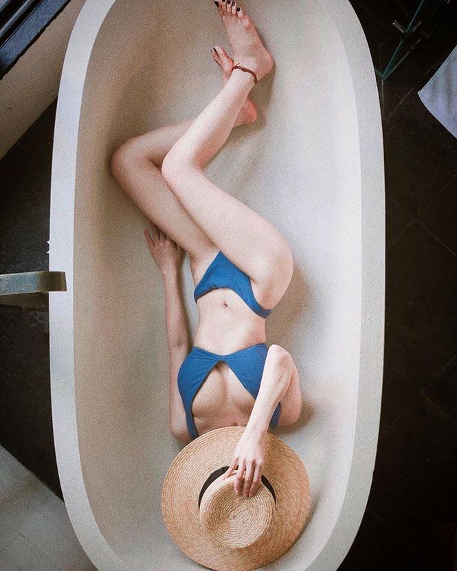 Ca nương Kiều Anh gây sốt với ảnh mặc bikini khoe vóc dáng nóng bỏng - 6