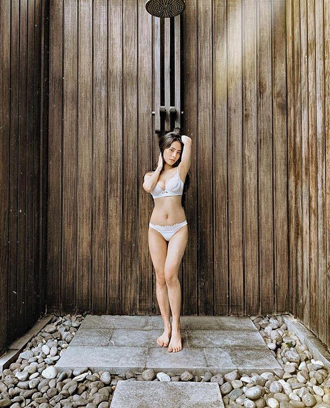 Ca nương Kiều Anh gây sốt với ảnh mặc bikini khoe vóc dáng nóng bỏng - 8