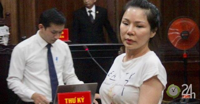 Bà Ngọc lý giải động cơ thuê người chém Chiêm Quốc Thái