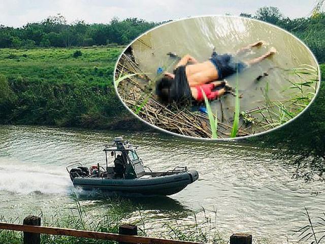 Câu chuyện đằng sau bức ảnh hai cha con nhập cư gục chết bên bờ sông