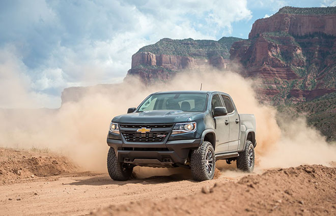 Pickup Chevrolet Colorado and GMC Canyon will use the new chassis in the next generation