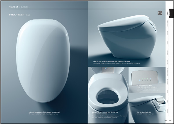 Trải nghiệm phòng tắm đẳng cấp với bộ sưu tập mới của TOTO - 2