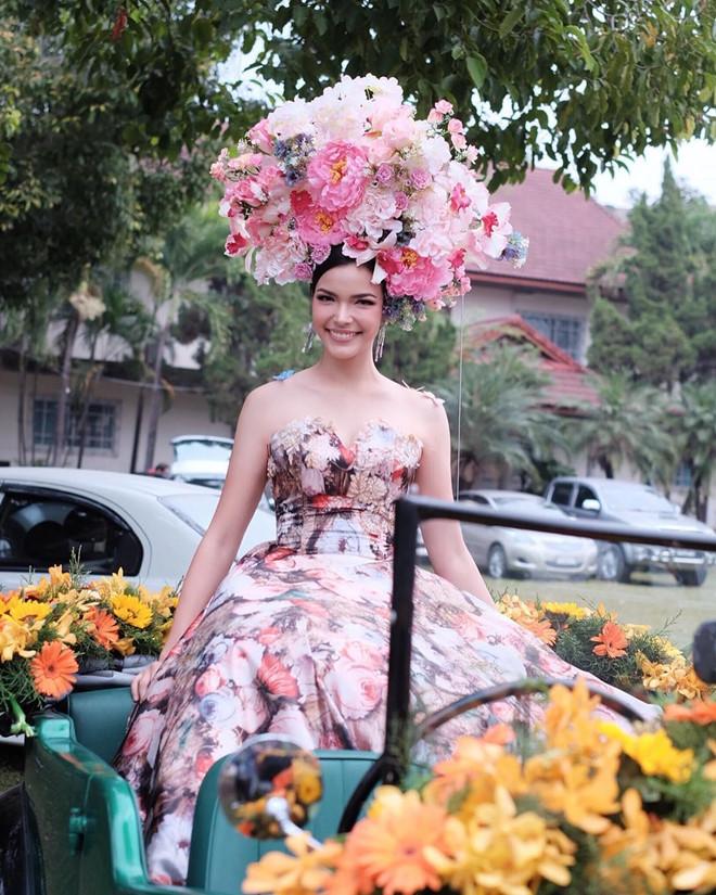 DJ bốc lửa cao 1m81 đăng quang Hoa hậu Hoàn vũ Thái Lan 2019 - 8