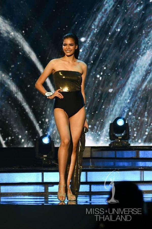 DJ bốc lửa cao 1m81 đăng quang Hoa hậu Hoàn vũ Thái Lan 2019 - 4