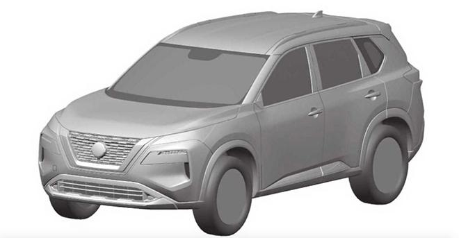 Nissan X-Trail thế hệ mới lộ thêm hình ảnh phác họa chi tiết