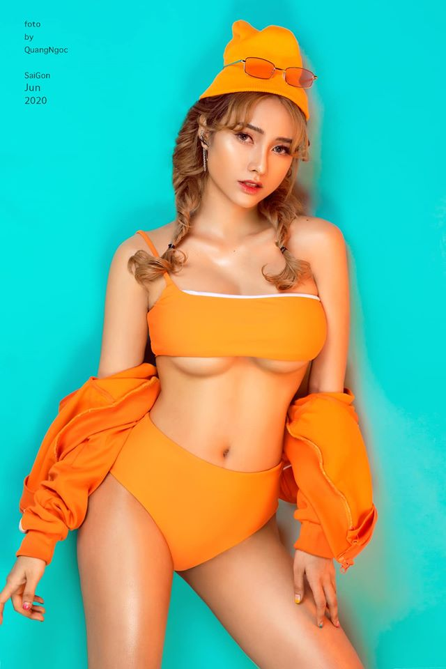 """""""Nữ DJ xinh nhất Nha Trang"""" đấm đá để dáng quyến rũ - 7"""