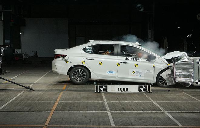 Honda city 2020 đạt chứng nhận an toàn 5 sao của asean ncap