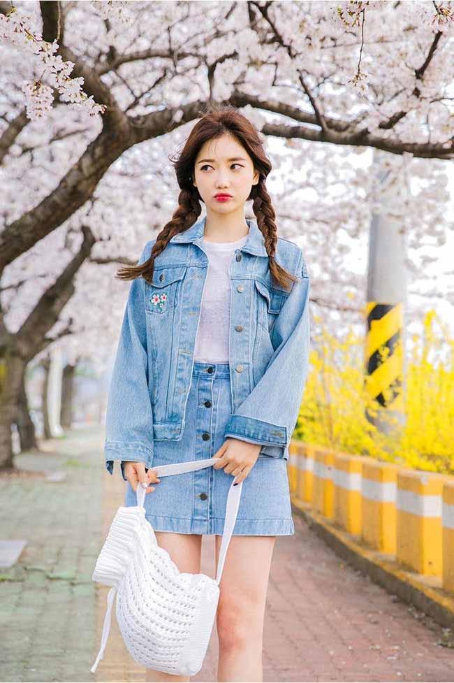 6 cách kết hợp trang phục màu xanh cho nàng công sở đẹp xuất sắc - 5