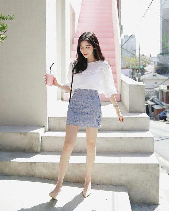 6 cách kết hợp trang phục màu xanh cho nàng công sở đẹp xuất sắc - 8