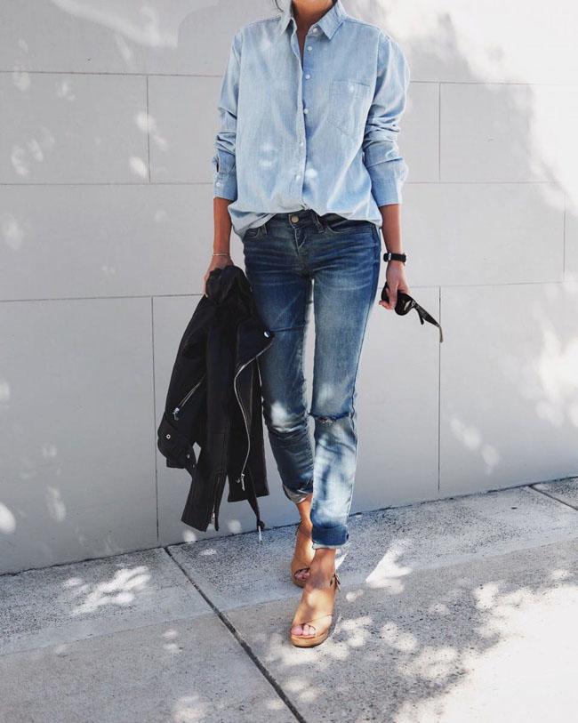6 cách kết hợp trang phục màu xanh cho nàng công sở đẹp xuất sắc - 4