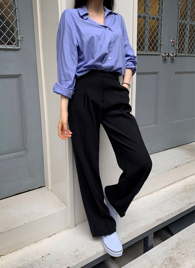 6 cách kết hợp trang phục màu xanh cho nàng công sở đẹp xuất sắc - 6