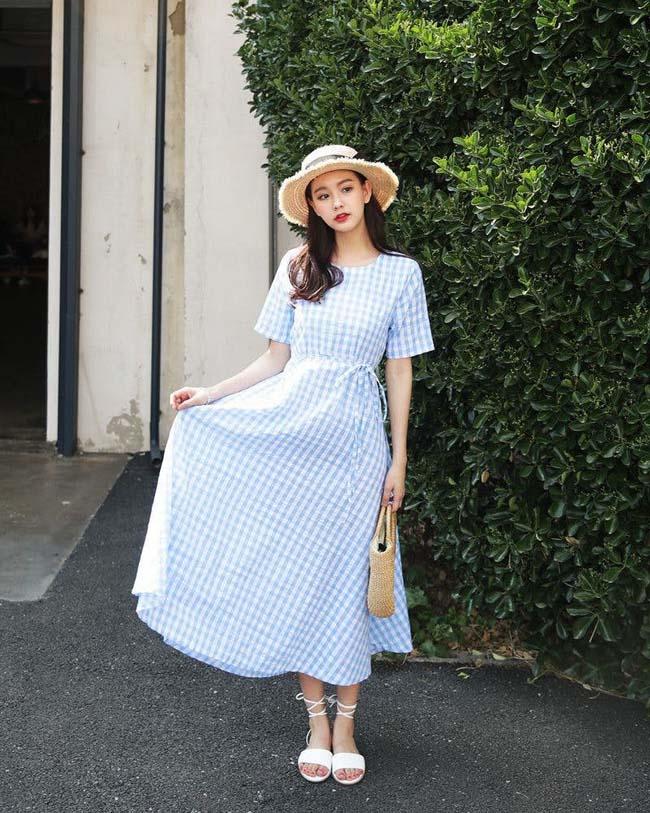 6 cách kết hợp trang phục màu xanh cho nàng công sở đẹp xuất sắc - 10