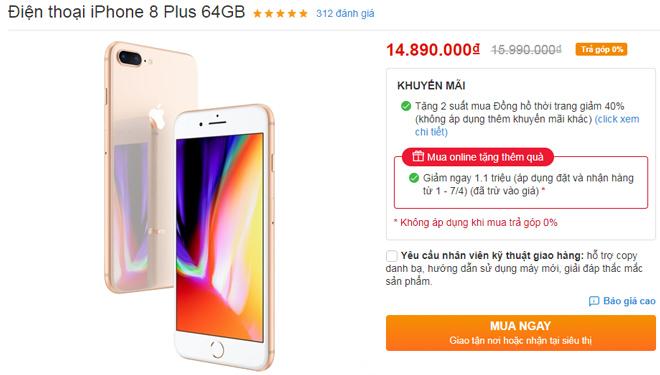 iPhone tháng 4 đua nhau giảm, iPhone XS Max giảm tới 05 triệu - 5