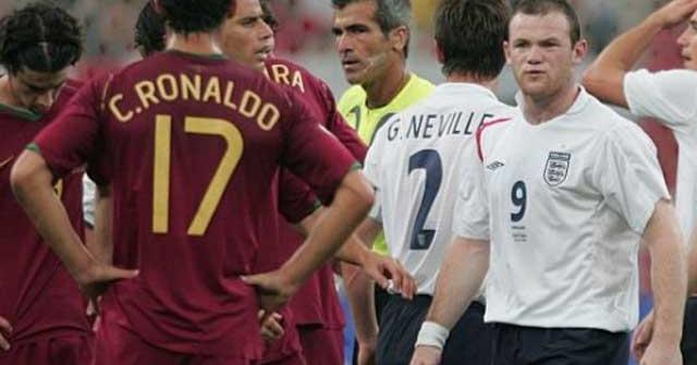 Sự thật mâu thuẫn giữa Rooney và Ronaldo ở World Cup 2006