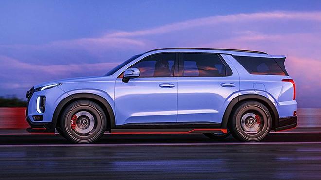 """Hyundai """"nhá hàng"""" phiên bản hiệu năng cao của dòng xe SUV Palisade - 4"""