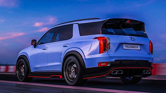 """Hyundai """"nhá hàng"""" phiên bản hiệu năng cao của dòng xe SUV Palisade - 2"""
