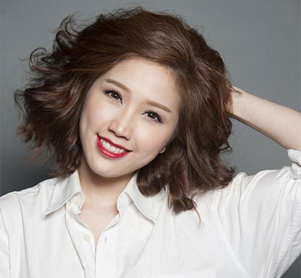 Kiểu tóc ngắn đẹp cho mặt dài