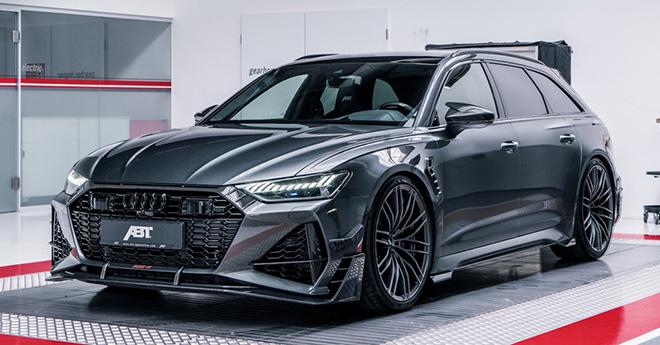 Audi RS6 Avant mạnh hơn 700 mã lực với 2 gói độ từ ABT và Mansory