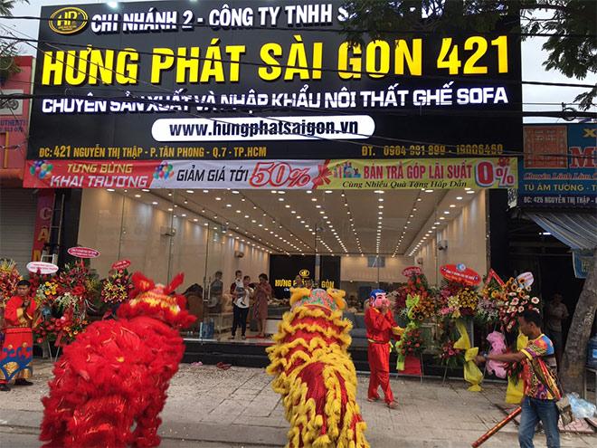 Hưng Phát Sài Gòn kỉ niệm 10 năm thành lập giảm 70% nhiều sản phẩm sofa - 2