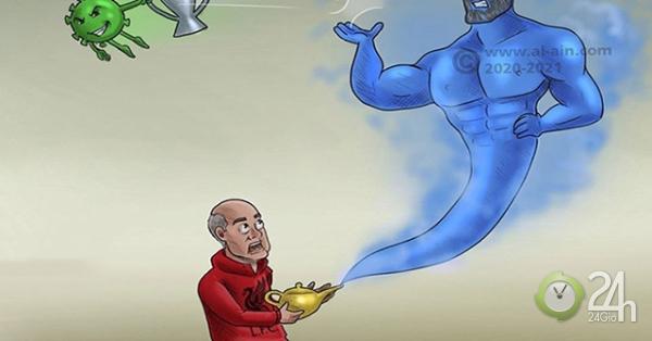 Ảnh chế: Vi rút Corona cướp cúp ngoại hạng Anh trên tay Liverpool