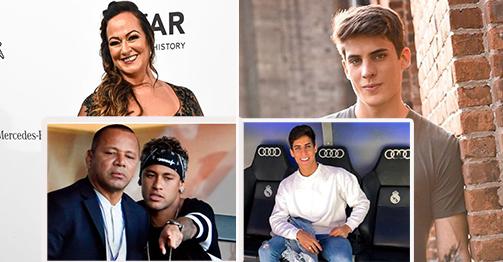 """""""Phi công"""" Ramos yêu mẹ Neymar là fan Real, bố Neymar phản ứng bất ngờ"""