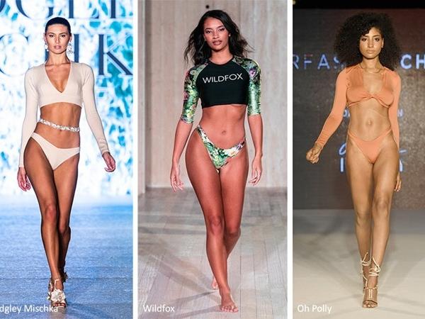 Xu hướng bikini Xuân Hè 2020 với ruy băng và nơ
