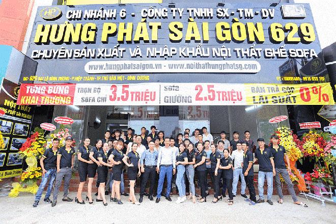 Hưng Phát Sài Gòn kỉ niệm 10 năm thành lập giảm 70% nhiều sản phẩm sofa - 5