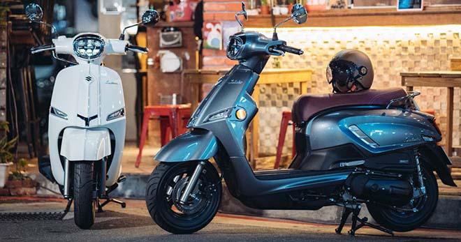 Suzuki Saluto 125 sẽ sớm về Việt Nam: Airblade có thêm nỗi lo - 1