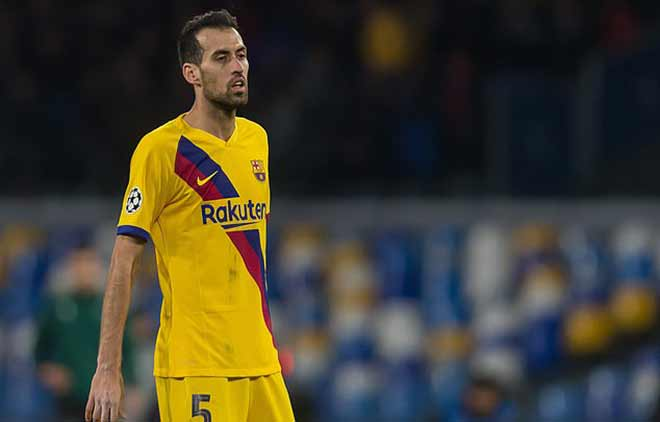 HOT football news on 16/4: Busquets disagree La Liga preparing to play again - 1