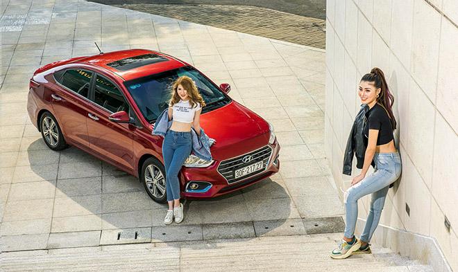Hyundai Accent sau 2 năm sản xuất tại Việt Nam đã bán được 36.696 chiếc - 1
