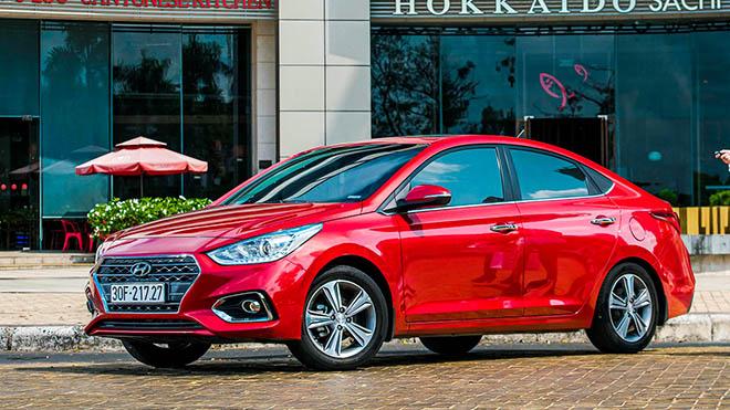Hyundai Accent sau 2 năm sản xuất tại Việt Nam đã bán được 36.696 chiếc - 2