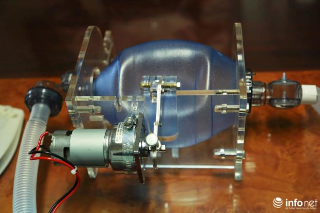 Cận cảnh máy trợ thở đầu tiên do chính tay người Việt Nam thiết kế và sản xuất - 14