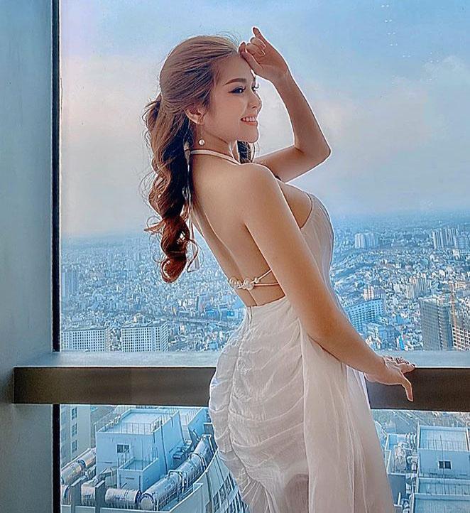"""""""Hot girl Mì Gõ"""" chỉ cao 1m56 tiết lộ cách làm đẹp và số cân nặng ít ai ngờ - 5"""