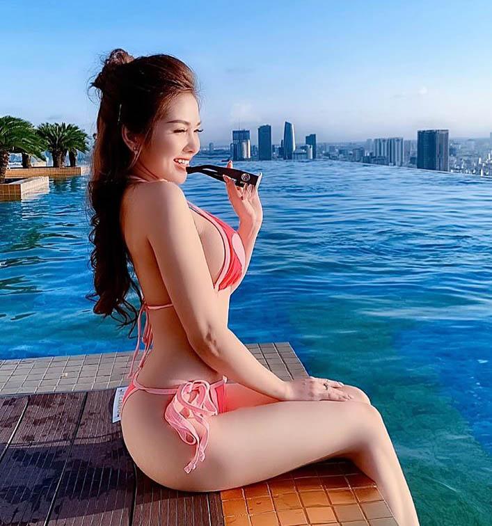 """""""Hot girl Mì Gõ"""" chỉ cao 1m56 tiết lộ cách làm đẹp và số cân nặng ít ai ngờ - 2"""
