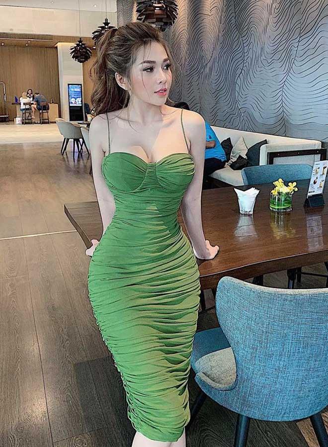 """""""Hot girl Mì Gõ"""" chỉ cao 1m56 tiết lộ cách làm đẹp và số cân nặng ít ai ngờ - 6"""