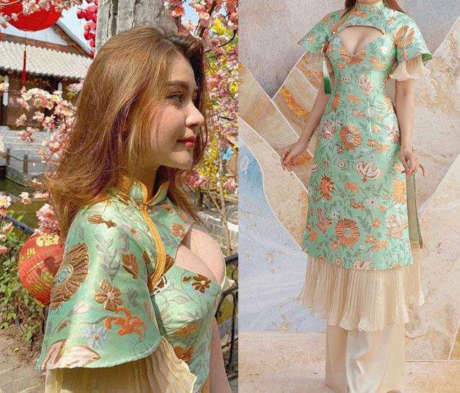 Búp bê lai xinh nổi tiếng Sài thành gây tranh cãi vì áo dài cách tân - 1