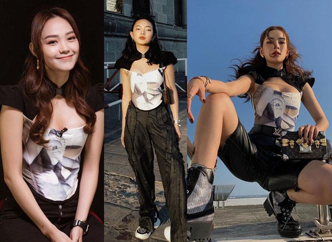 Búp bê lai xinh nổi tiếng Sài thành gây tranh cãi vì áo dài cách tân - 4