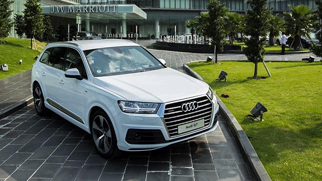 Audi việt nam triệu hồi dòng q7 để kiểm tra chi tiêt hê thông lái