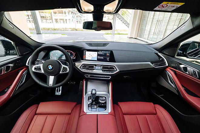 Cận cảnh bmw x6 xdrive40i m sport giá 4829 tỷ đồng vừa ra mắt thị trường việt