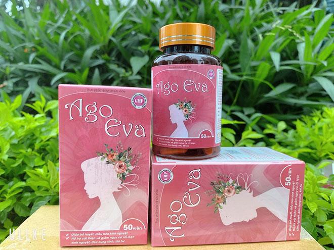 Ago Eva hỗ trợ tích cực chứng rối loạn kinh nguyệt, đau bụng kinh, khí hư - 1