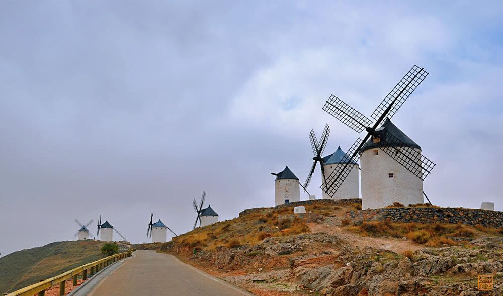 Ngỡ ngàng ngôi làng cối xay gió có thực trong truyện Đôn Kihôtê ở Tây Ban Nha - 4