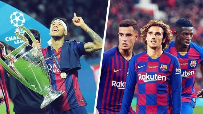 """Barca lụn bại vì 3 """"bom tấn"""" 371 triệu bảng, Griezmann tệ như Coutinho - 1"""