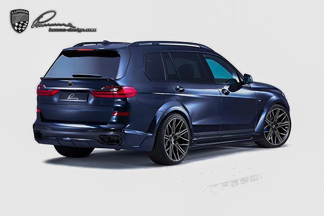 BMW X7 hầm hố hơn với gói nâng cấp từ Lumma Design - 9