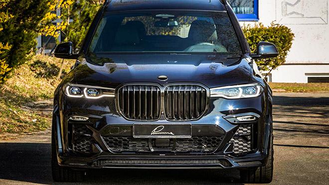 BMW X7 hầm hố hơn với gói nâng cấp từ Lumma Design - 6